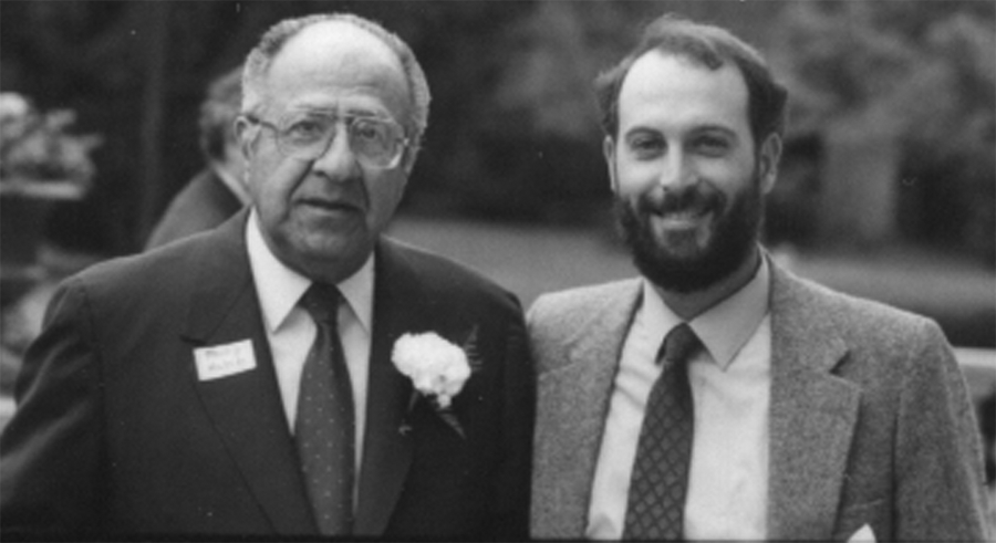Philip Habib and John Boykin, 1988